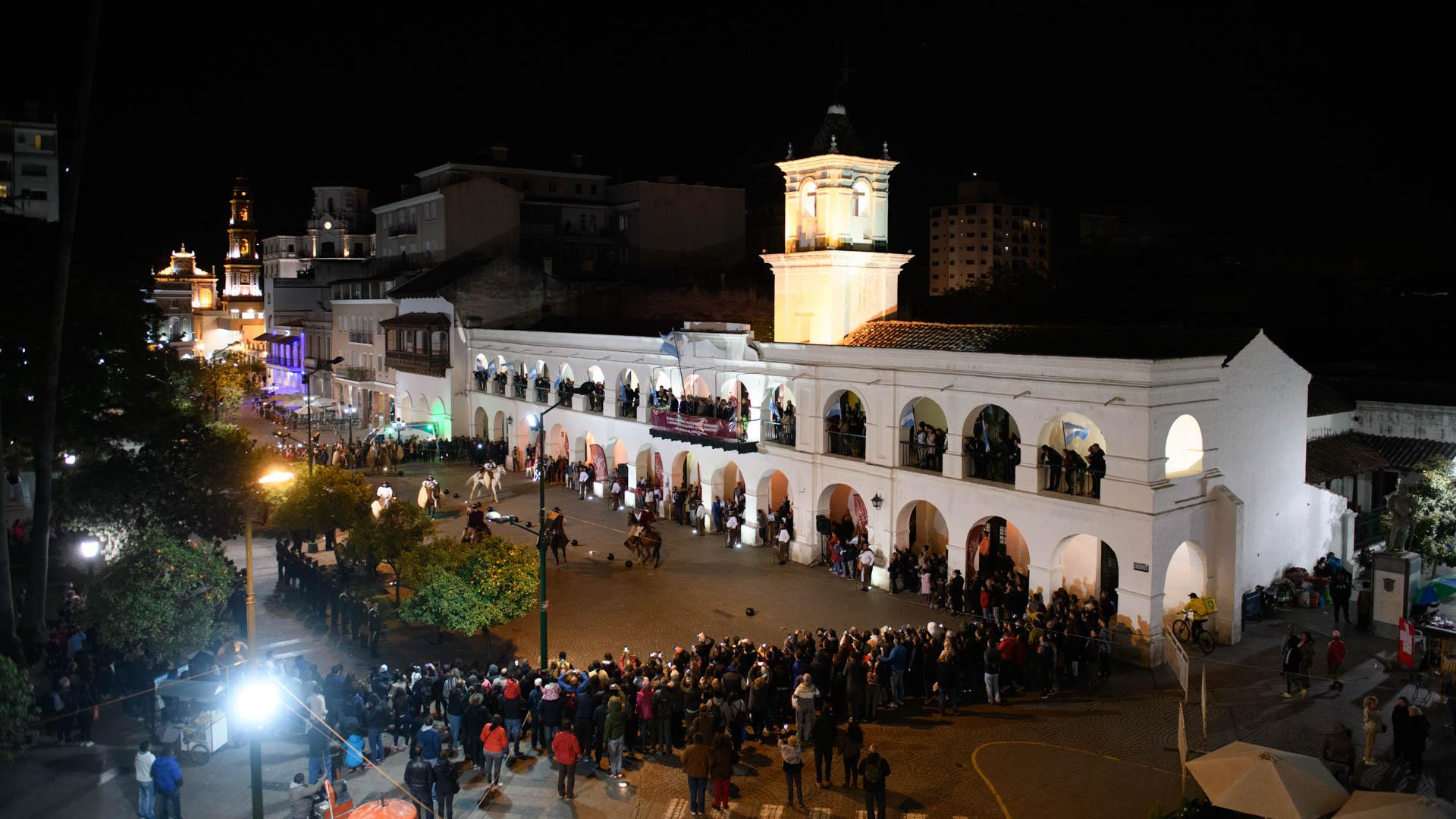 El Cabildo de la capital salteña, construido en 1780, es el mejor conservado del país.